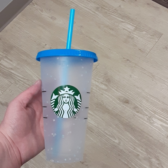 Starbucks Color Changing Confetti Reusable